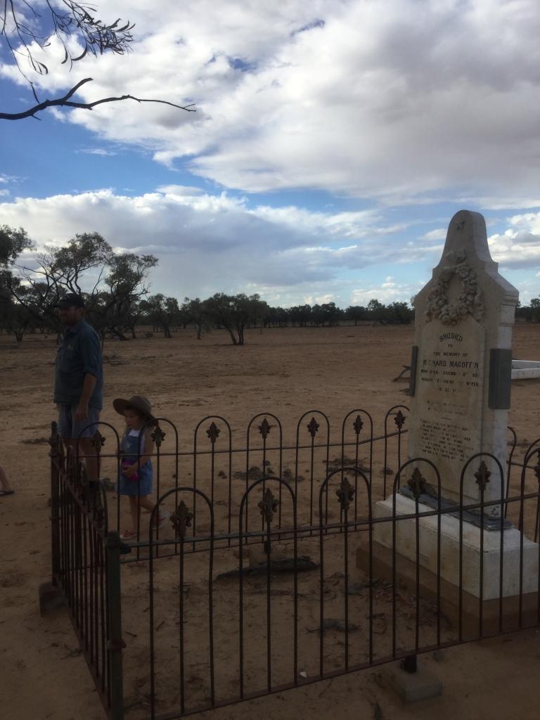 Magoffin's grave site